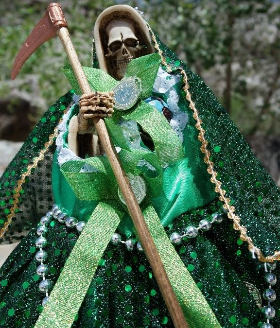 Niña Verde, The Green Aspect of Santa Muerte