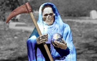 Niña Azul, The Blue Aspect of Santa Muerte