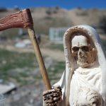Santa Muerte as Nina Blanca