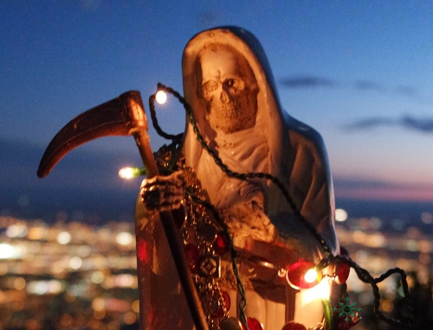 Going Shopping for Santa Muerte