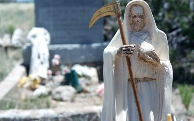 Visiting the Graveyard with Santa Muerte