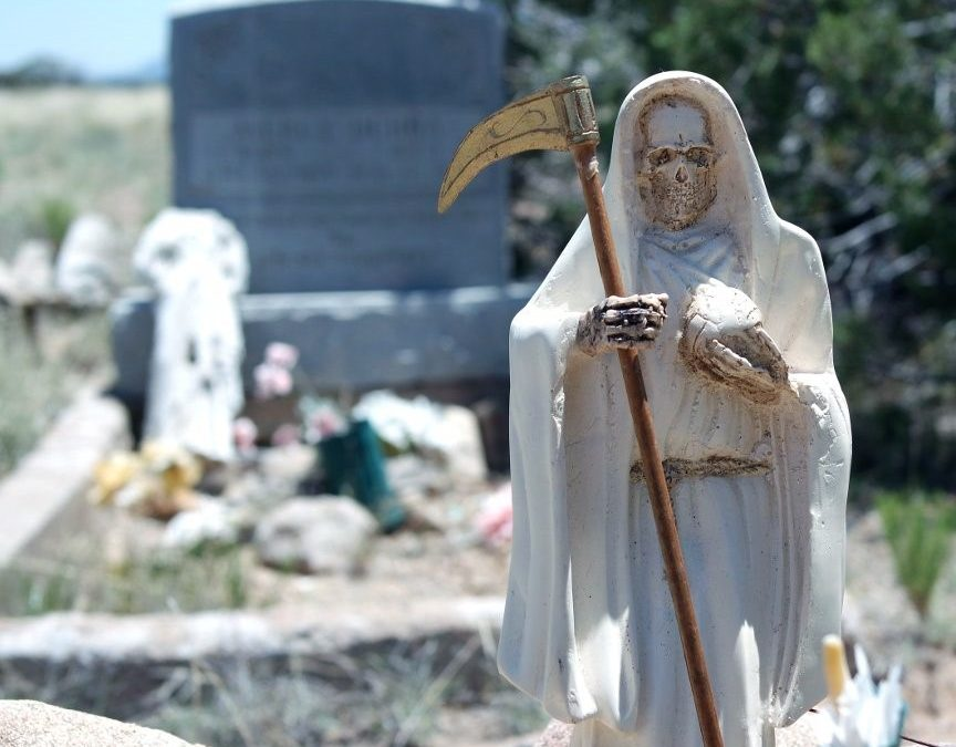 Visiting the Graveyard with Santa Muerte