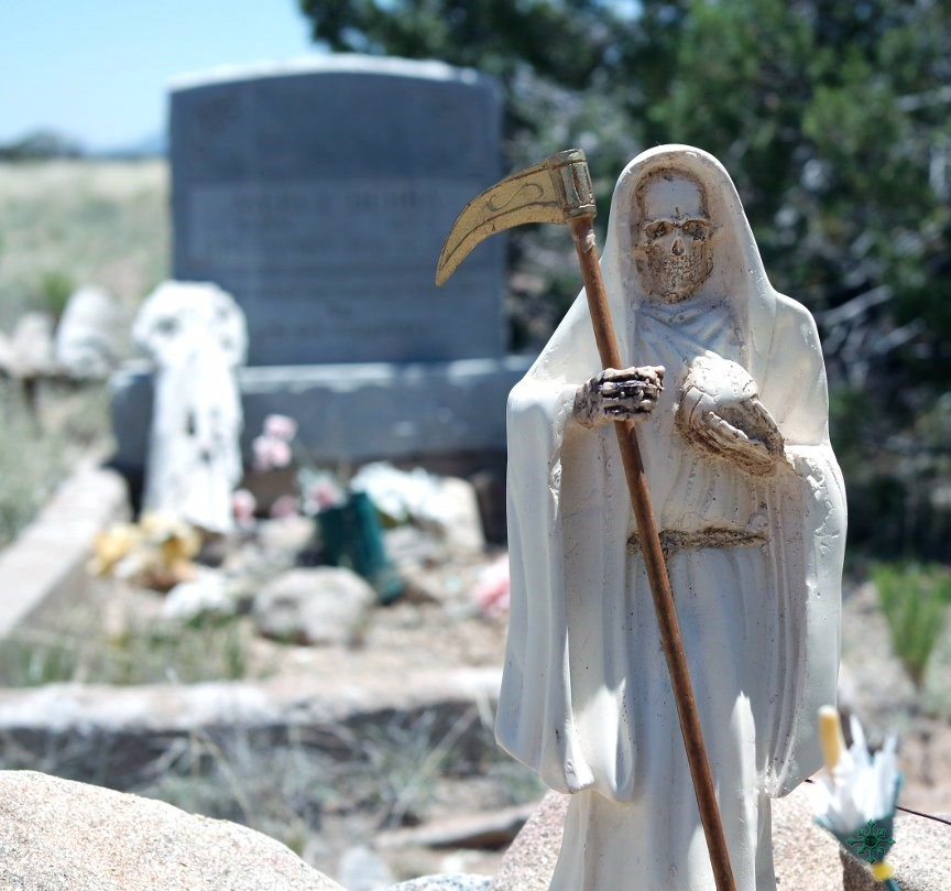 Visiting the Graveyard with Santa Muerte » Tracey Rollin