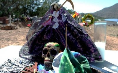 Niña Purpura, The Purple Aspect of Santa Muerte